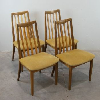 Juego de 4 sillas de donnald gomme g plan sillas - Tapiceria de sillas ...
