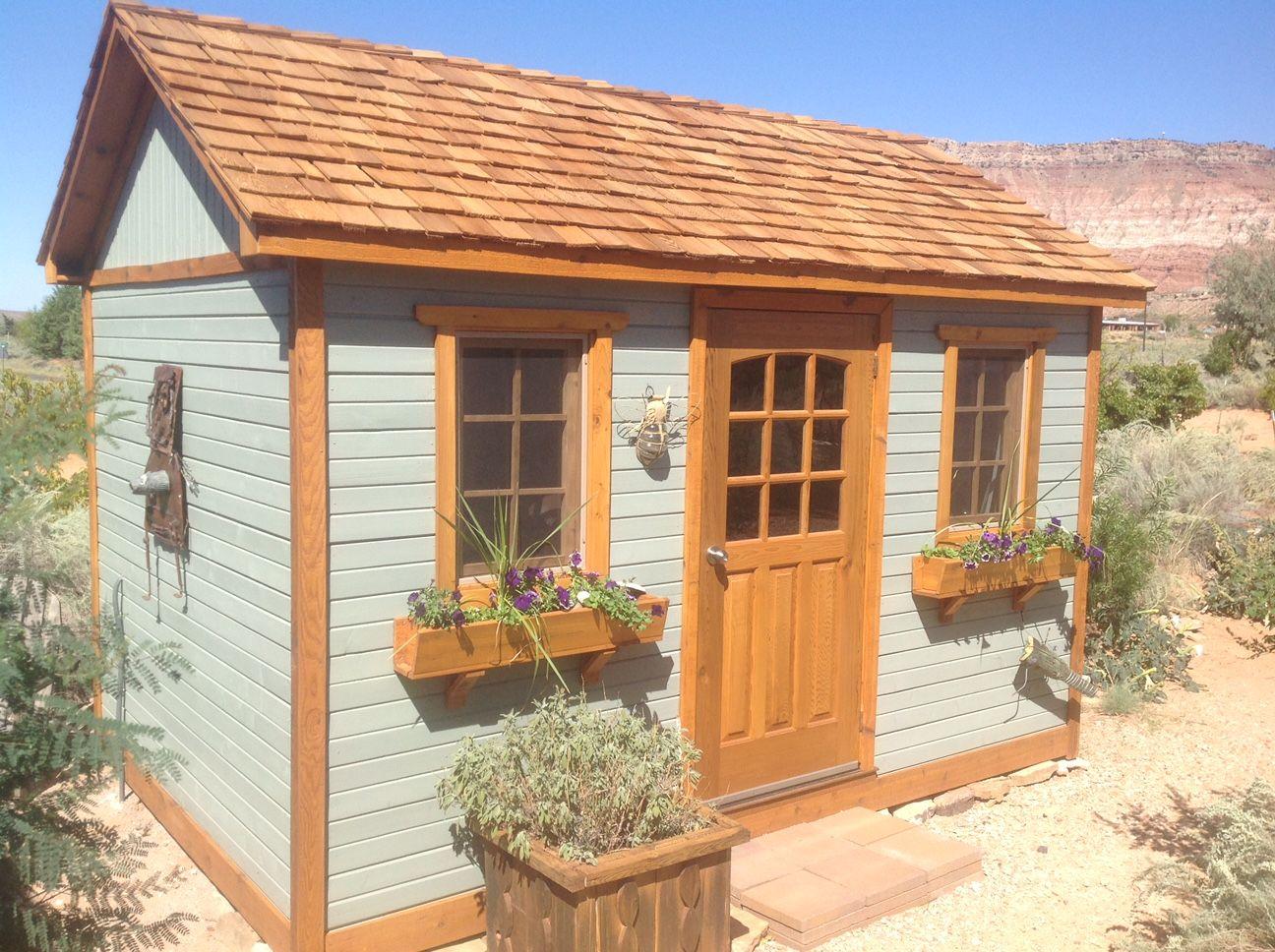 backyard shed kit garden sheds pinterest outdoor gardens