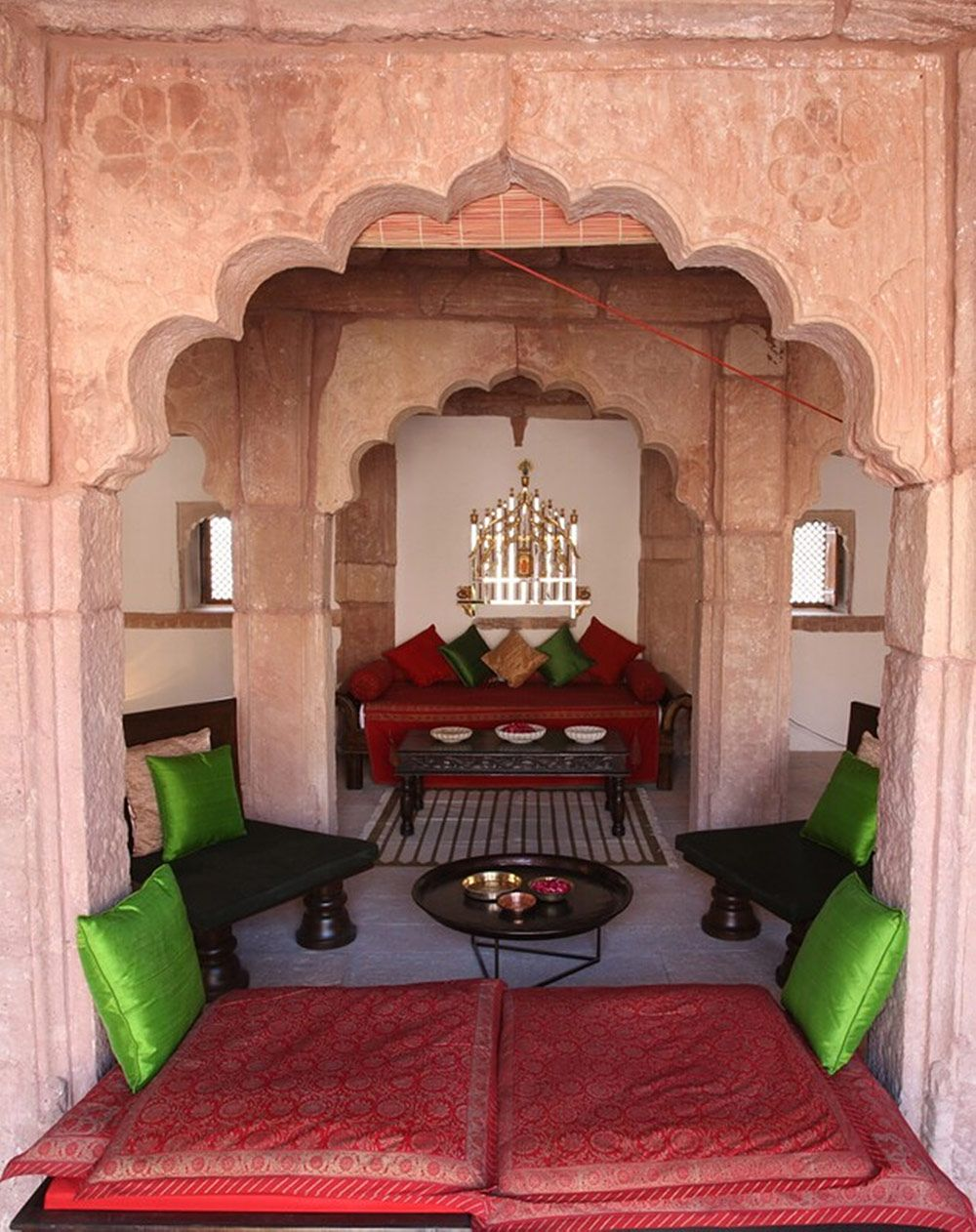 Ranvas in Nagaur, Rajasthan: 18th-century havelis tucked within the walls of Nagaur's magnificent fort.