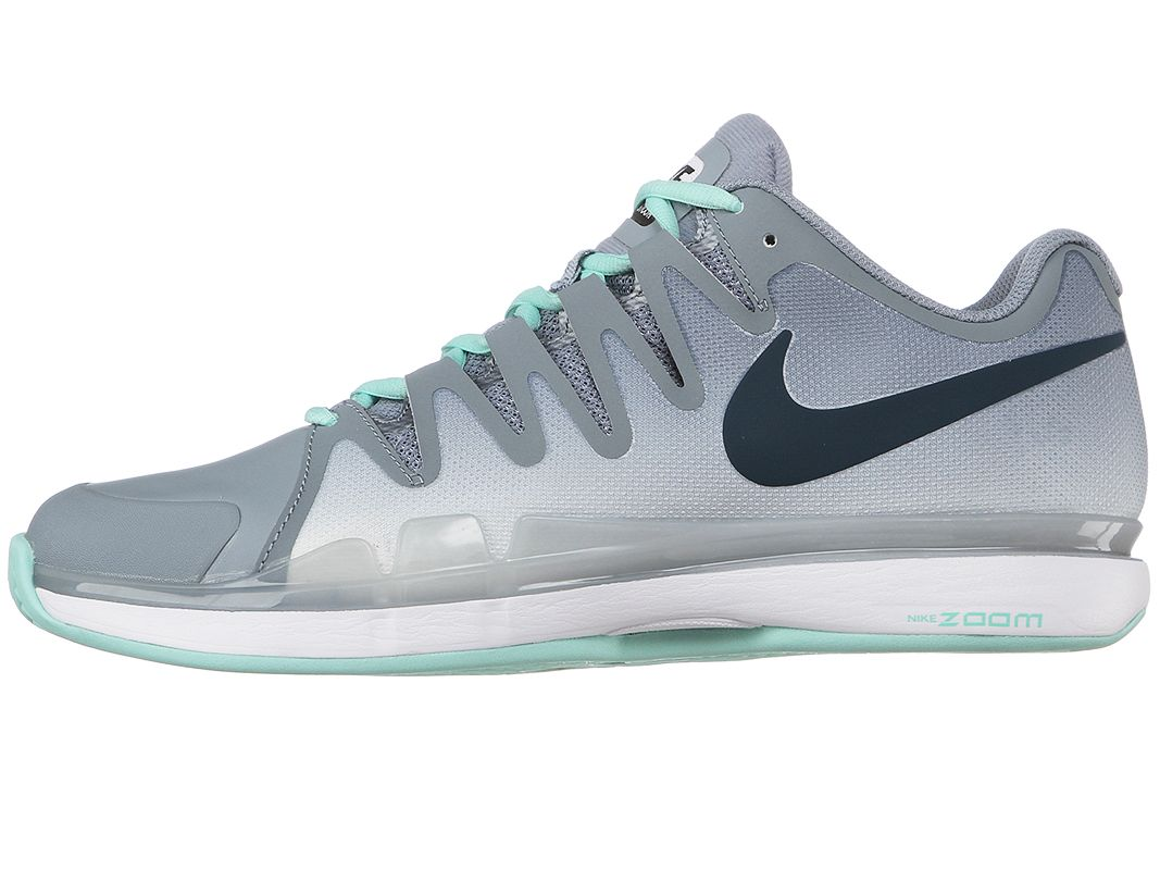Nike Zoom Vapor 9.5 Tour CLAY Grey/Mint Men's Shoe