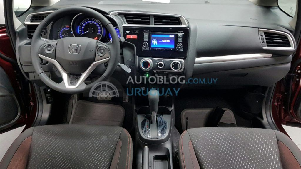 Interior Of The Honda Wr V Photographed In South America Cars