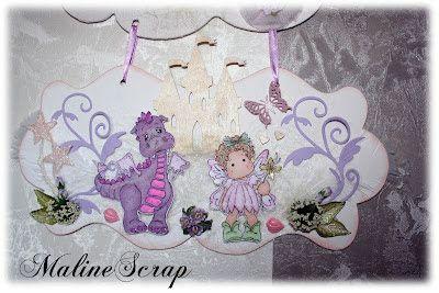 MalineScrap-blog scrapbooking: Déco