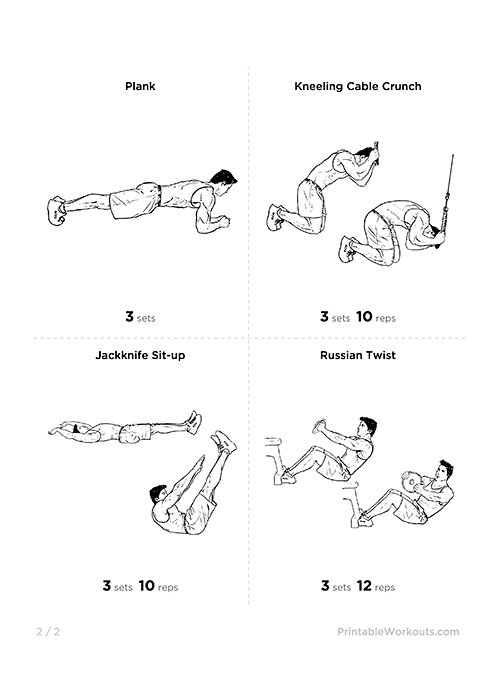Six Pack Workout 2