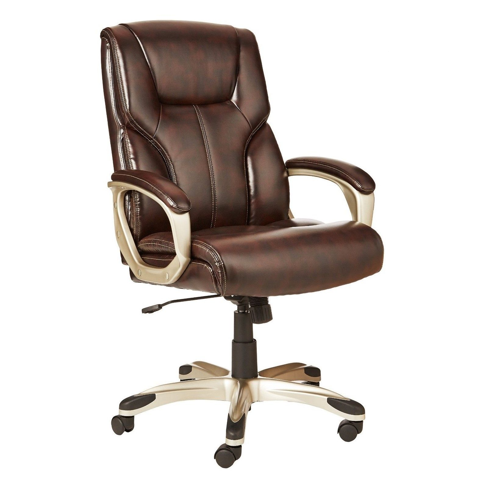 HighBack Executive Reclining Office Chair Brown High