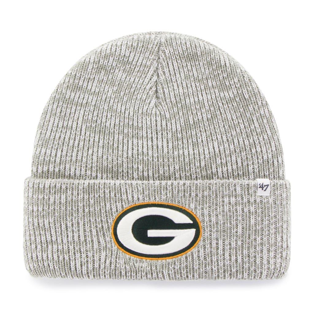Adult  47 Brand Green Bay Packers Brain Freeze Cuffed Knit Cap ... 13fff47b1