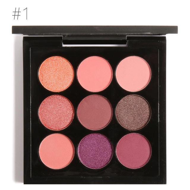 Nude Eyeshadow Palette - Neutral Makeup Palette | ISH