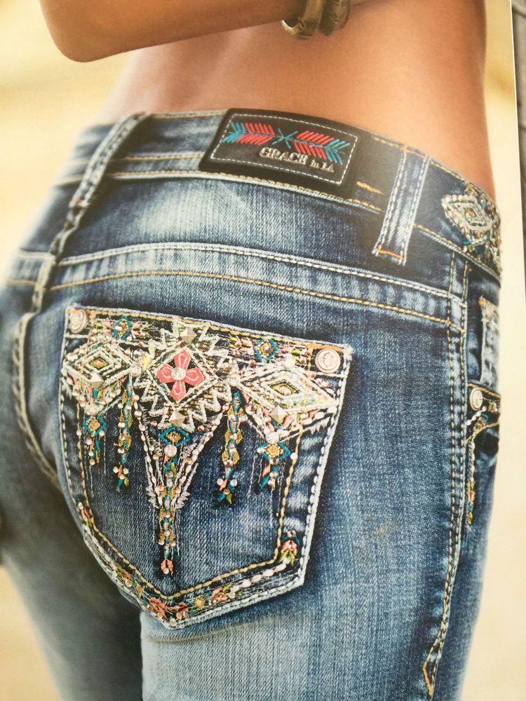 Grace In La Jeans La Idol Quot Multi Color Diamonds Quot Dont Miss