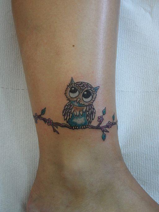 Small Owl Tattoo Google Search Owl Tattoo Small Owl Foot Tattoos Cute Owl Tattoo