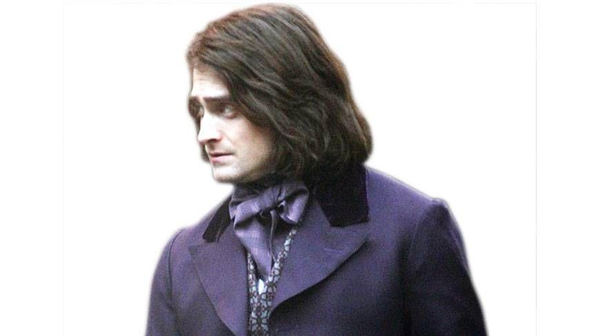 Daniel Radcliffe Wears Long Hair In Frankenstein Remake