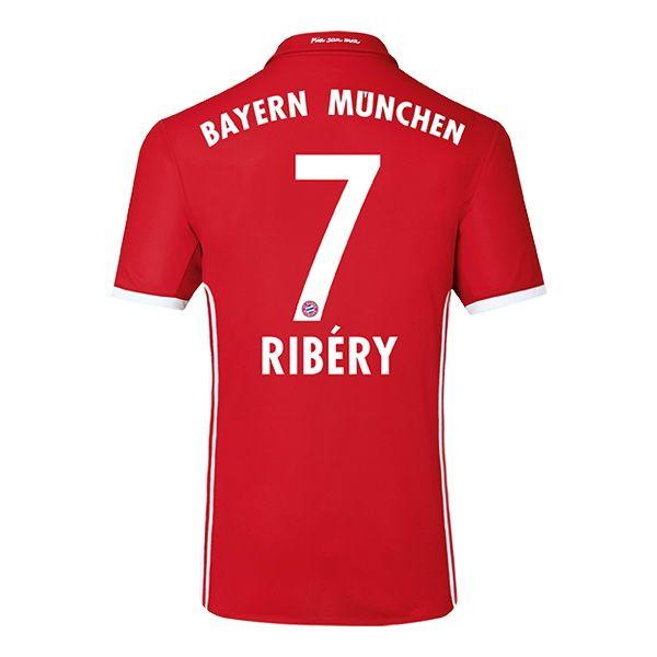 Maillot Domicile FC Bayern München Franck Ribéry