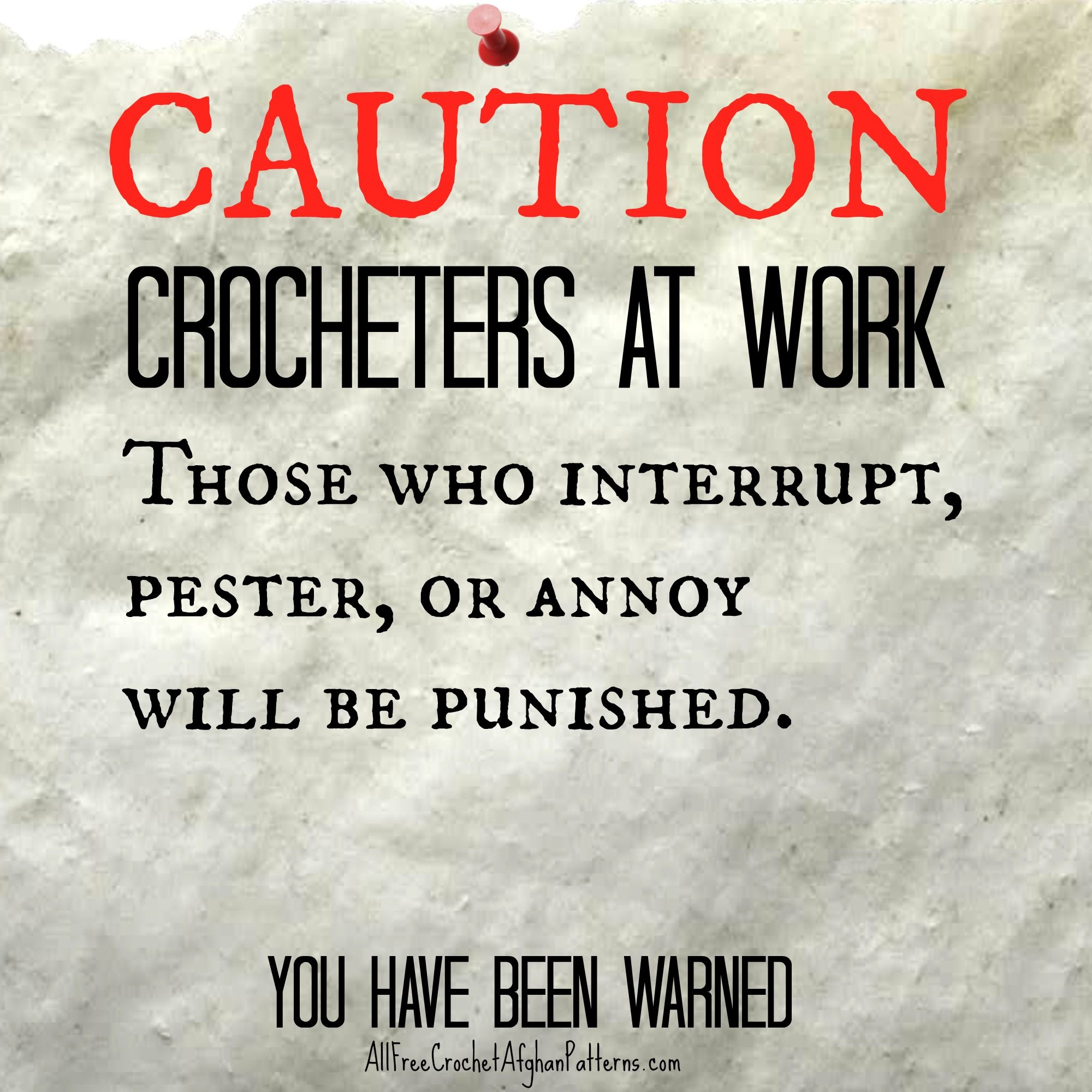 Hehe...CAUTION CROCHETERS AT WORK. Don't mind me, I'll be crochet all weekend!