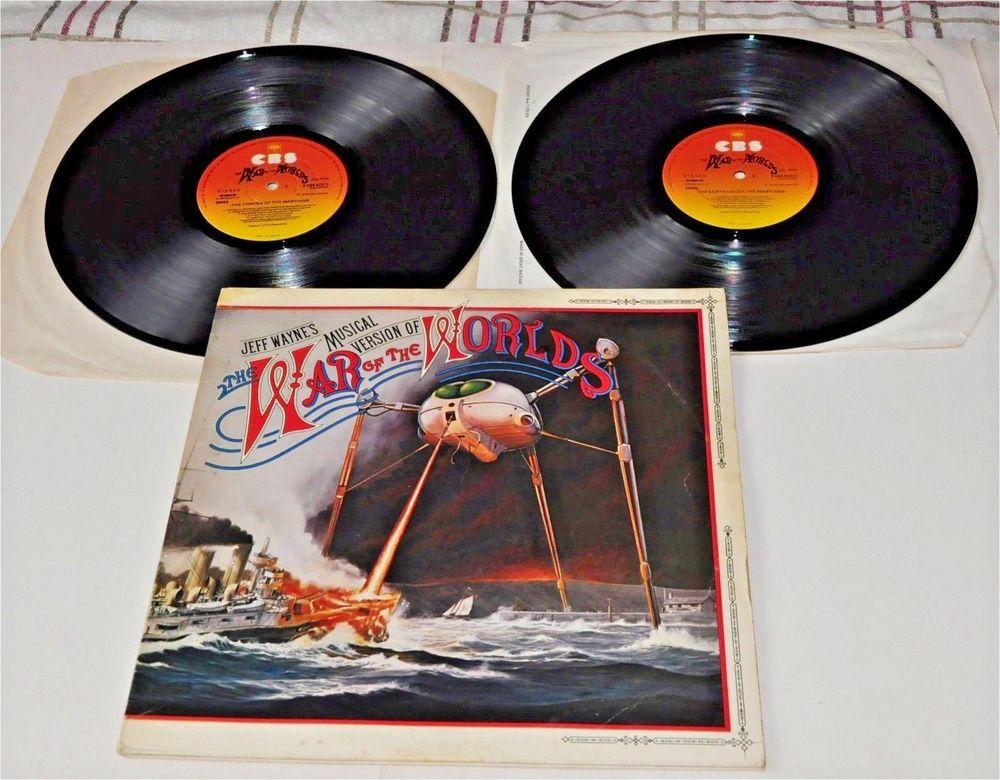 Jeff Waynes War Of The Worlds Double Vinyl Lp Booklet S Cbs 82672 War Of The Worlds War Band Posters