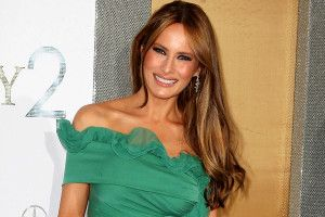 Melania Trump Hairstyle, Makeup, Dresses, Shoes and Perfume - http://