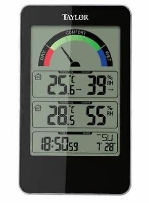 Taylor Comfort Monitor Indoor Temperature Thermometer Humidity