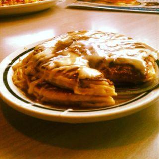 Ihop's cinnamon pancakes :)