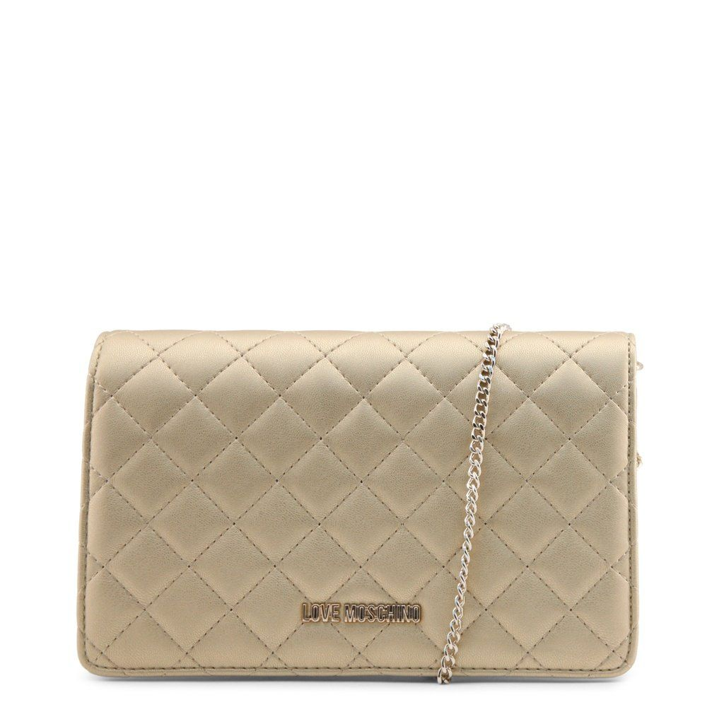 deef1b97e26 Love Moschino JC4095PP16LO. Love Moschino JC4095PP16LO Yellow Clutch Bags,  Leather ...