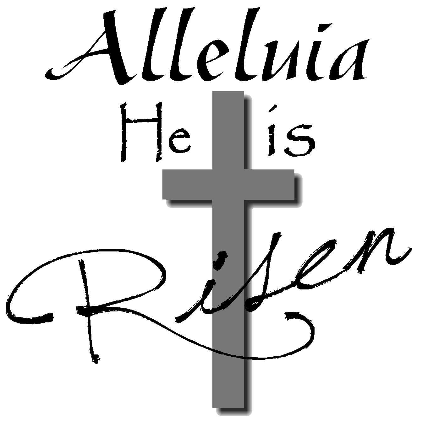 29+ He is risen clipart black and white ideas in 2021