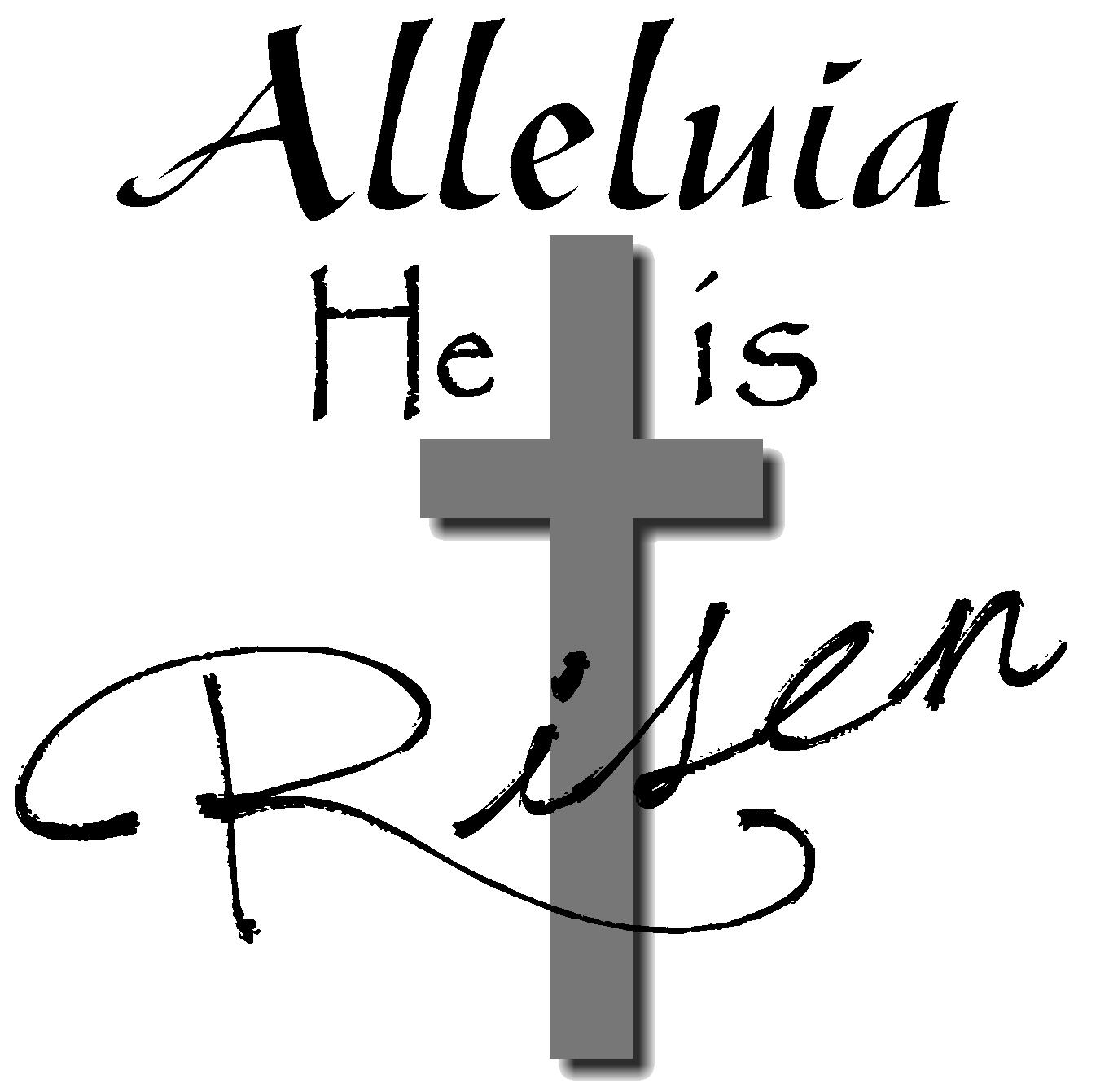 he is risen [ 1362 x 1341 Pixel ]