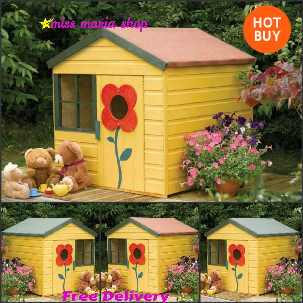 play house outdoor wooden kids garden childrens playhouses wendy