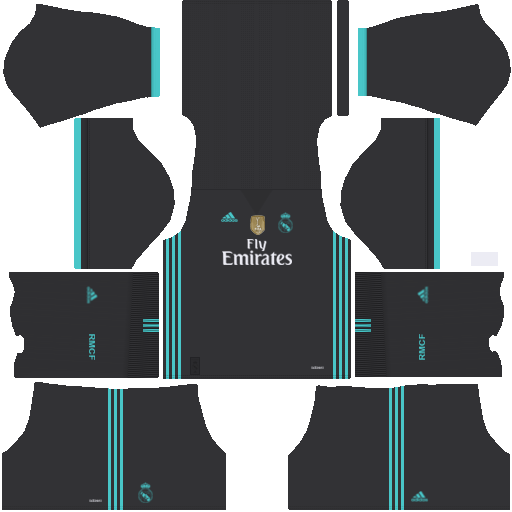 finest selection c7c7e 2a949 Real Madrid Away Kit 2017/2018 DLS | Real madrid | Real ...