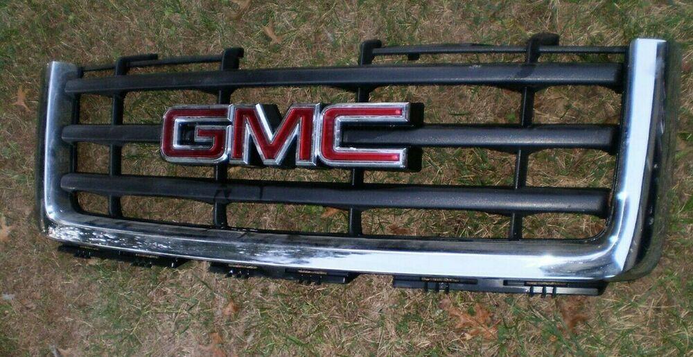 Oem 2007 2013 Gmc Truck Grill Sierra 1500 Front Grill Oem Gmc