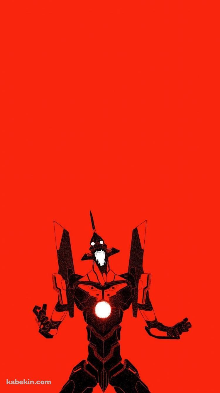 暴走するエヴァンゲリオンのiphone壁紙 エヴァンゲリオン イラスト 壁紙 アニメ Iphone 壁紙 アニメ