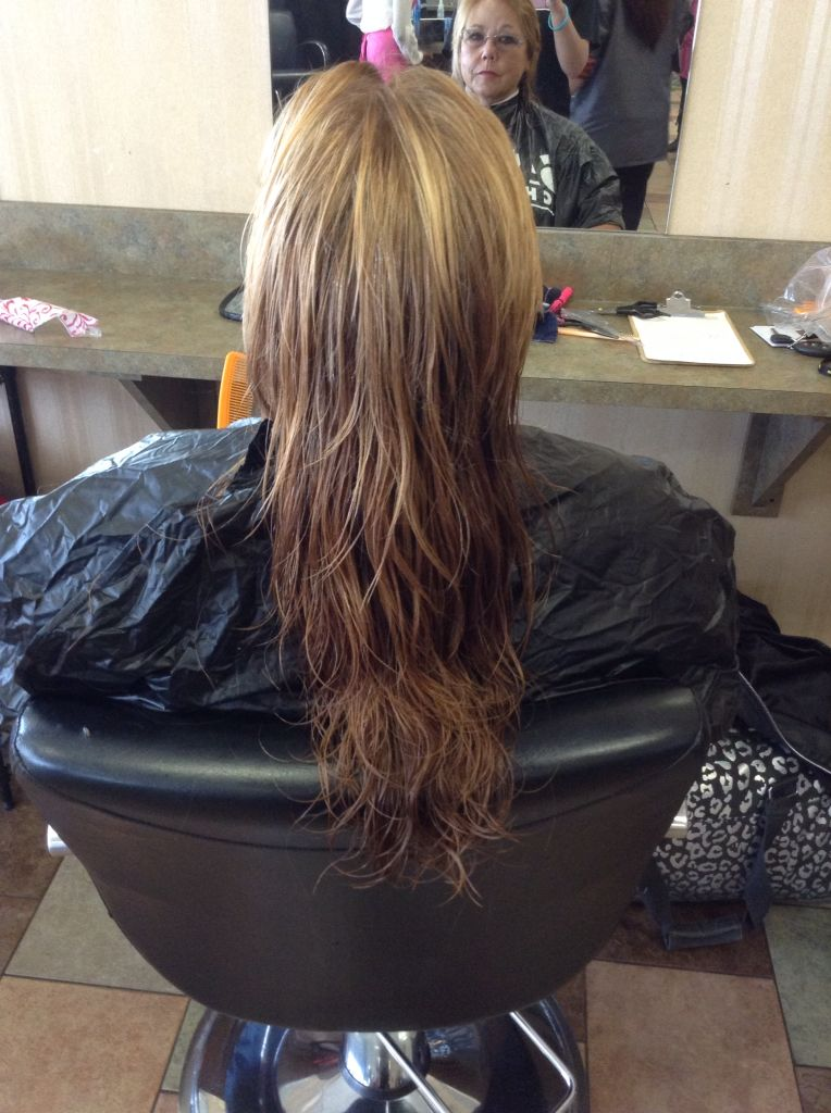 Beautiful layers and a trim this was a fun cut with lots of volume it's one of my favorite pieces of work  ❤️❤️ love it!