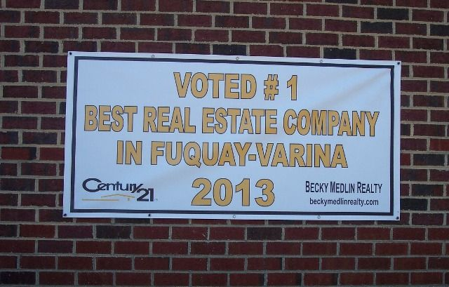 Voted #1 Real Estate Company in Fuquay-Varina.