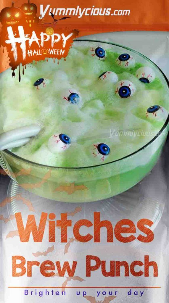 Witches Brew Punch Recipe   Yummlycious