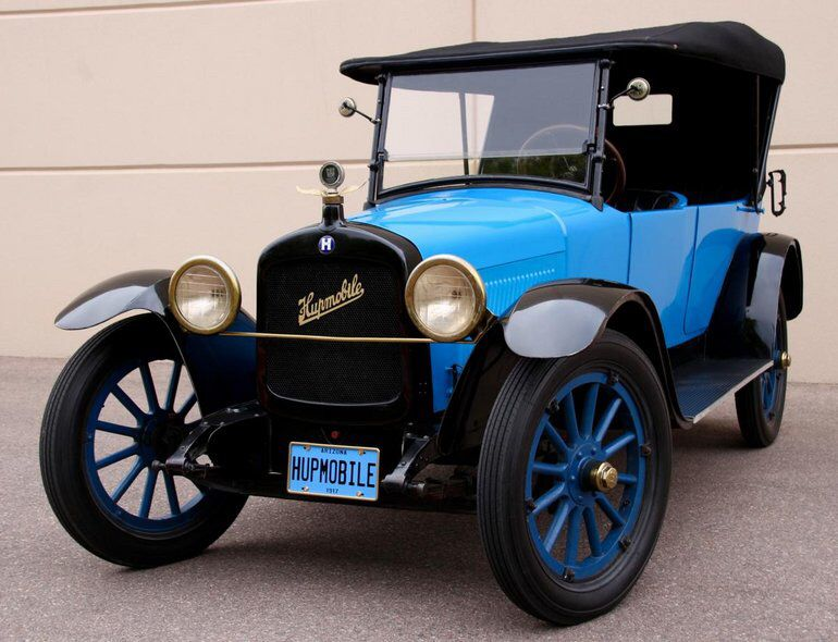 1917 Hupmobile Touring Model N In 2020 Vintage Cars Classic