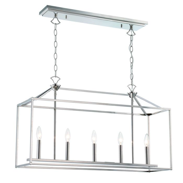 Langdon mills drummond 5 light kitchen island pendant wayfair