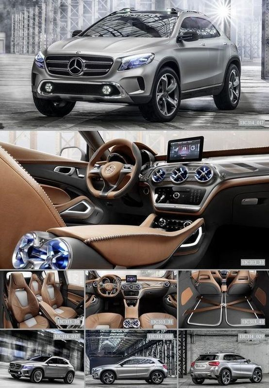 mercedes benz gla concept must see suvs and crossovers worth waiting for suv and crossover. Black Bedroom Furniture Sets. Home Design Ideas