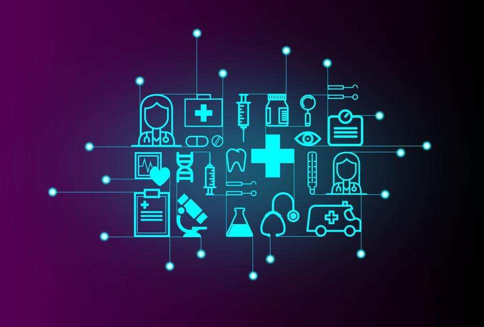 Get Free Images Of Medical Technology Concept Technology On Healthcare Medical Technology Technology Wallpaper Medical Technology Labs