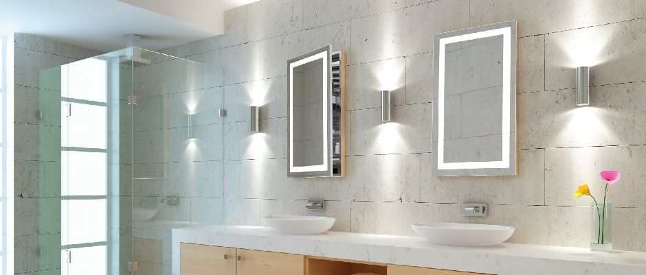 Electric Mirror AMB Ambiance Medicine Cabinet Ideas That - Bathroom mirror with electrical outlet for bathroom decor ideas