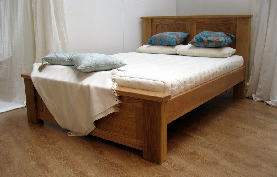 Depiction Of Simple Wood Bed Frame Ideas