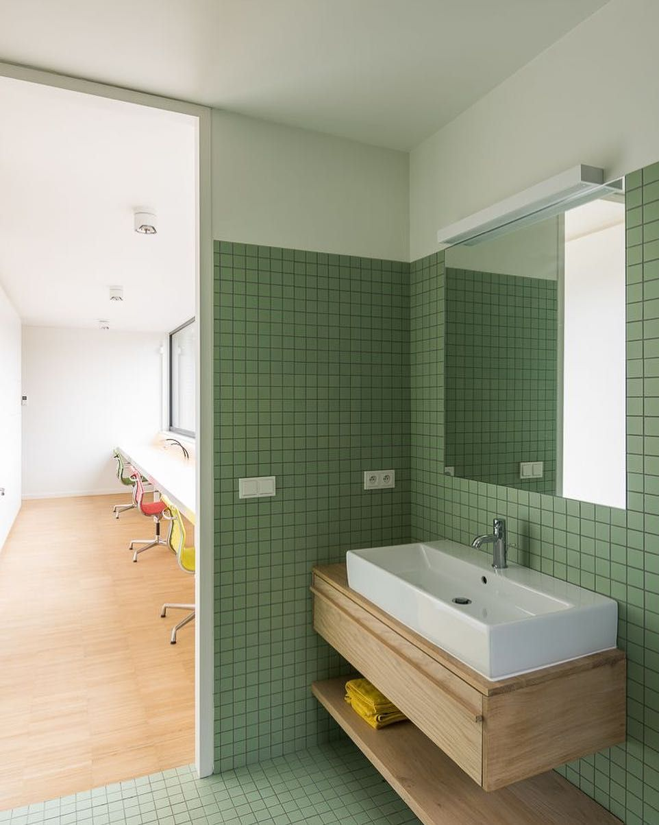 Bathroom photographed by #lucroymans, DWC HOUSE in #Heverlee ...