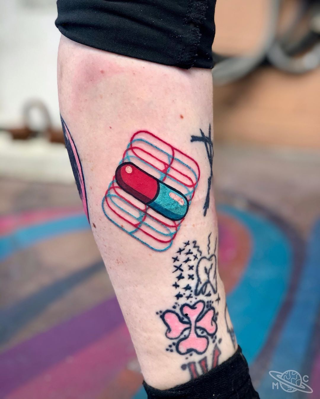 Small Trippy Tattoos : small, trippy, tattoos, Amazing, Psychedelic, Tattoos, Ideas, Mind!, Tattoos,, Bright