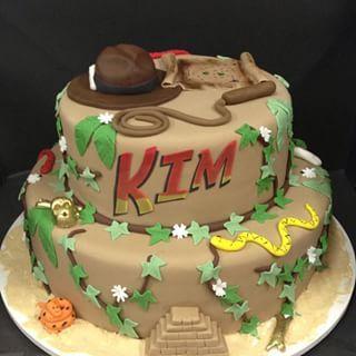 Sensational Indiana Jones With Images Indiana Jones Cake Cake Themed Cakes Funny Birthday Cards Online Inifodamsfinfo