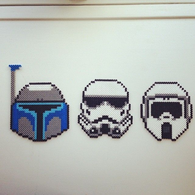 Star Wars perler project by anderslaursen | Starwars pixel art ...
