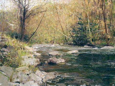Landscape Painting Richard Schmid Landscape Paintings Oil Painting Landscape Landscape Artist