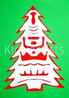 Polish Folkart Christmas Tree With Images Christmas Tree Art Artists For Kids