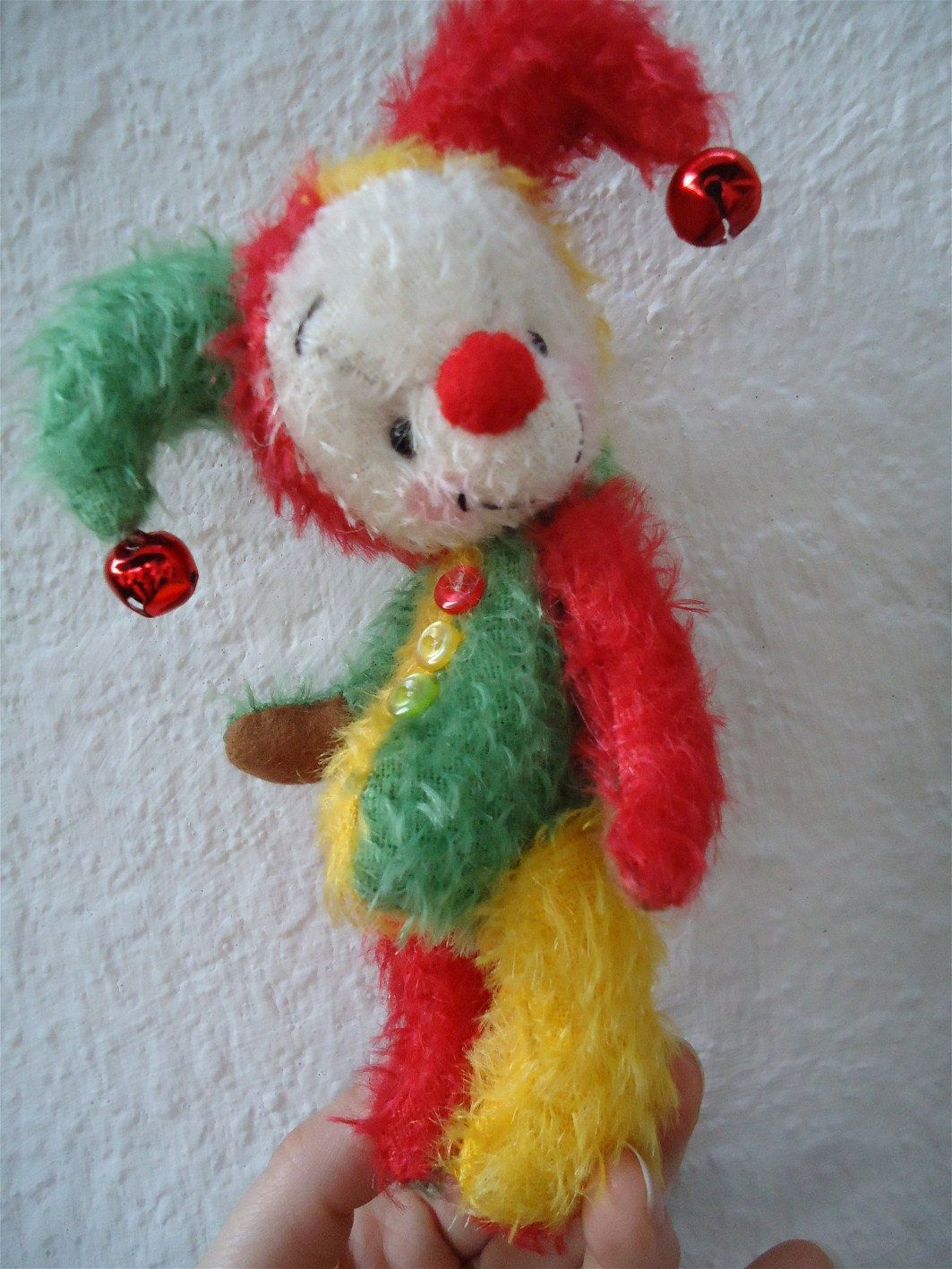 "Phillippi Purely Neysa plush Mohair /""Mouse/""  a Teddy Bear PATTERN by Neysa A"