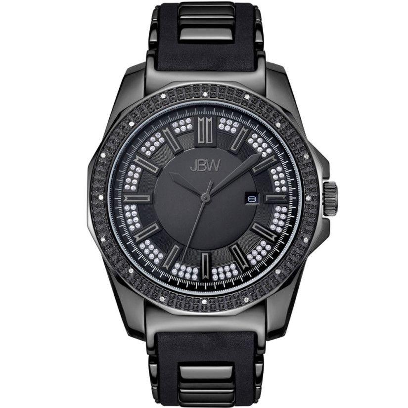 ساعات ألماس ساعة جي بي دبيليو ريجال ألماس السعودية Watches For Men Diamond Watch Stainless Steel Watch