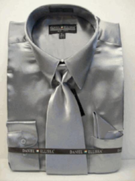 49++ Silver dress shirts information