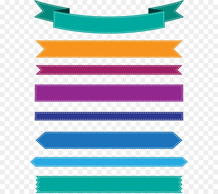 Web Banner Ribbon Icon Colorful Ribbon Banner Png Download 2000 2448 Free Transparent Banner Png Download