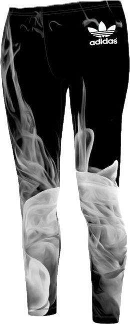 adidas Original-Smoke Legging x Rita Ora Black ... #adidasclothes