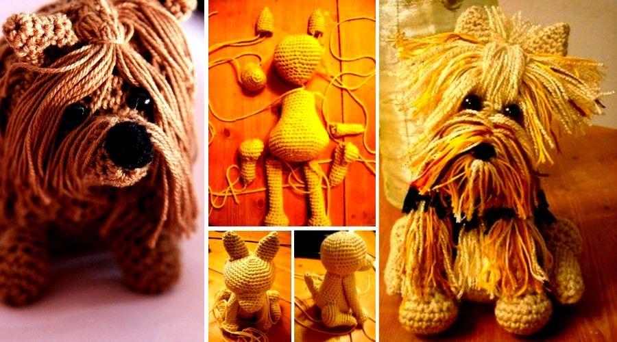 Amigurumis Perros Paso A Paso : A quién le gusta hacer un perro yorkshire a crochet? el amigurumi es