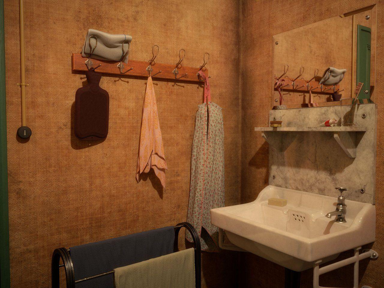 Otto, Edith, and Margot Frank's room | Hardwood floors in ...