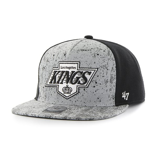 Eishockey 47brand Los Angeles Kings Captain Vintage Snapback Black