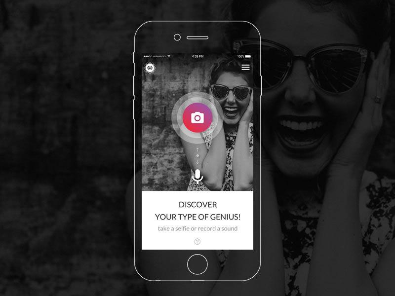 Face & voice recognition app by Marian Voicu
